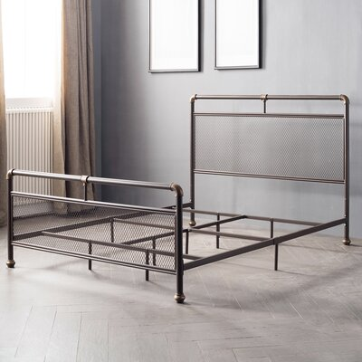 Branden Mesh Design Panel Bed Size: Full