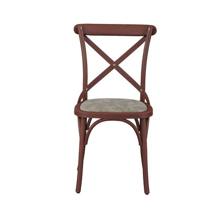 Salas Friendly Nylon Vintage Dining Chair Frame Color: Cuba Coffee