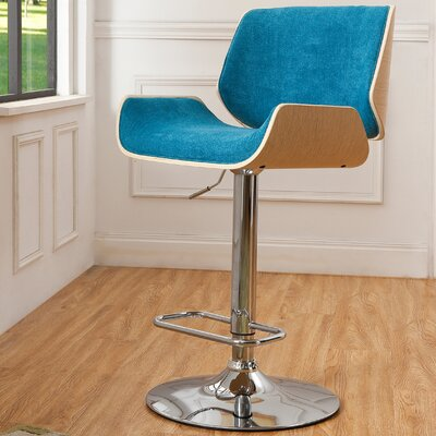 Chariklo Adjustable Swivel Bar Stool