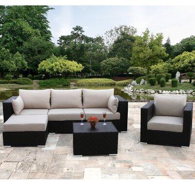 Sirio North America Inc Hudson 6 Piece Deep Seating Group with Cushion at Sears.com