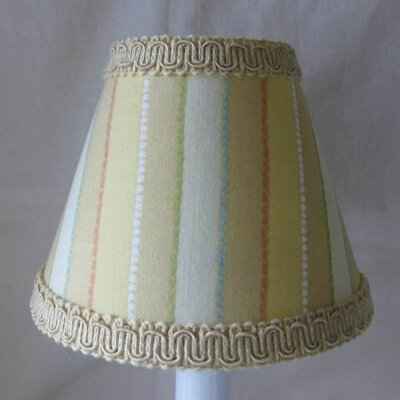Mustard Seed 5 Fabric Empire Candelabra Shade