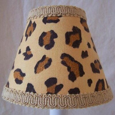 Kanya Safari 5 Fabric Empire Candelabra Shade