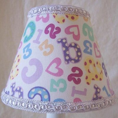 Counting Cutie 5 Fabric Empire Candelabra Shade