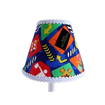 Construction Cutie 11 Fabric Empire Lamp Shade