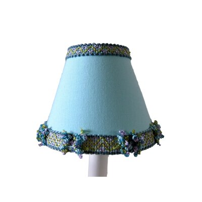 Lagoon 5 Fabric Empire Candelabra Shade Color: Blue