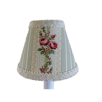 Grandmas Guest Room 11 Fabric Empire Lamp Shade