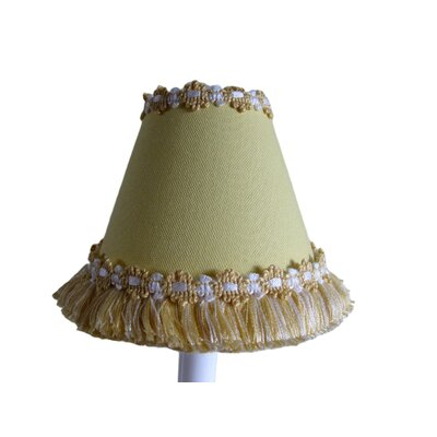 Warm Sunshine 11 Fabric Empire Lamp Shade