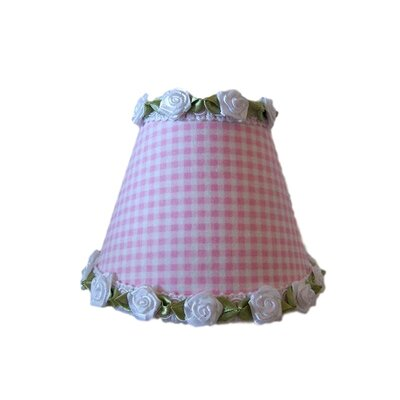 Gardens of Gingham Night Light Shade Color: White / Pink