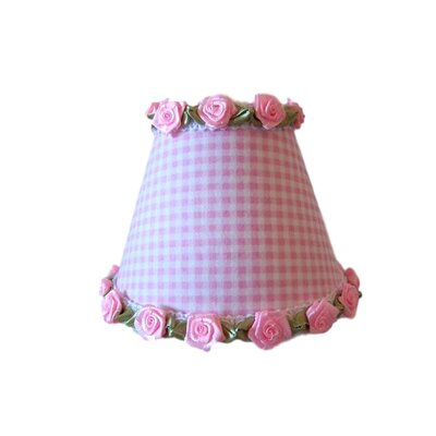 Gardens of Gingham Night Light Shade Color: Pink