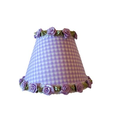 Gardens of Gingham Night Light Shade Color: Purple