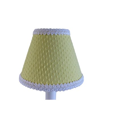 Teeny Chenille 11 Fabric Empire Lamp Shade Color: Yellow