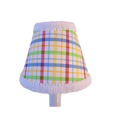 Poppin Plaid 11 Fabric Empire Lamp Shade