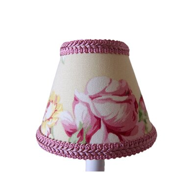 Stop and Smell The Roses 5 Fabric Empire Candelabra Shade