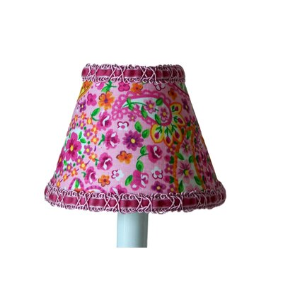 Floral Made Fun 5 Fabric Empire Candelabra Shade