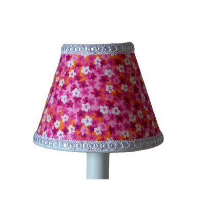 Floral In The Sun 5 Fabric Empire Candelabra Shade