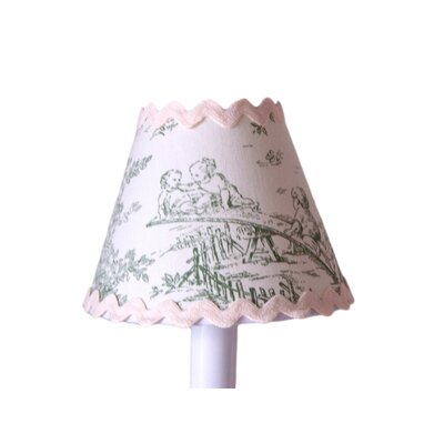 Central Park 5 Fabric Empire Candelabra Shade