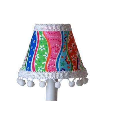 Patterns Gone Mad 5 Fabric Empire Candelabra Shade
