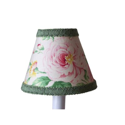 True Floral 5 Fabric Empire Candelabra Shade