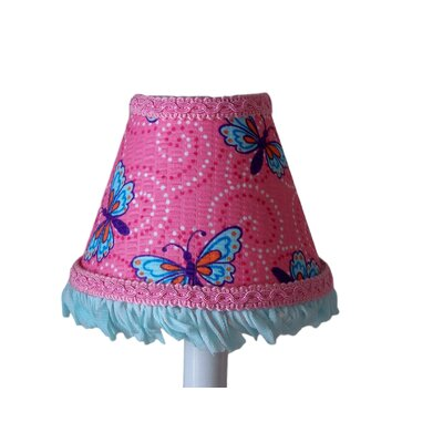 Butterfly Magic 5 Fabric Empire Candelabra Shade