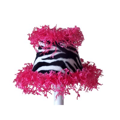 Zany Zebra 5 Fabric Empire Candelabra Shade