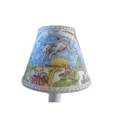 Nursery Rhyme 5 Fabric Empire Candelabra Shade