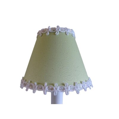 Pixie Wish 5 Fabric Empire Candelabra Shade Color: Green
