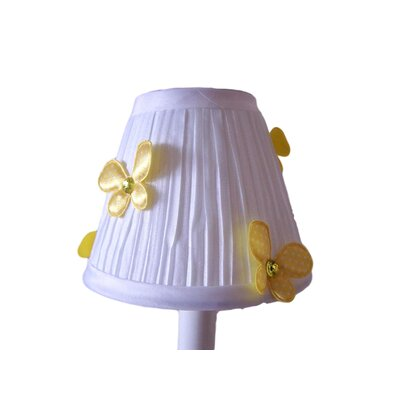 Fluttering Butterflies 5 Fabric Empire Candelabra Shade Color: Yellow