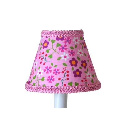 Blooming Beauties 5 Fabric Empire Candelabra Shade
