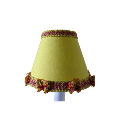 Lagoon 5 Fabric Empire Candelabra Shade Color: Yellow