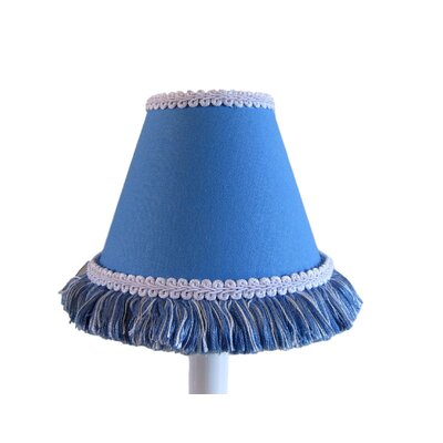 Night Sky 5 Fabric Empire Candelabra Shade Color: Blue