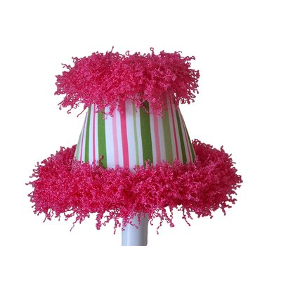 Poppin 5 Fabric Empire Candelabra Shade