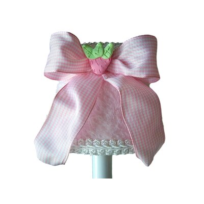 Wild Strawberry 5 Fabric Empire Candelabra Shade