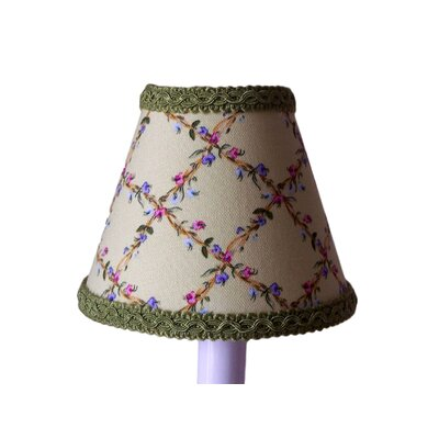 Flower Fantasy 5 Fabric Empire Candelabra Shade