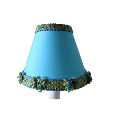Pacific Wave 5 Fabric Empire Candelabra Shade