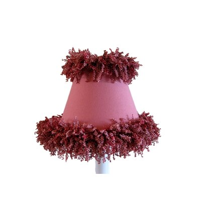 Mauve Missy 5 Fabric Empire Candelabra Shade