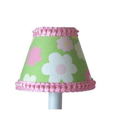 Fabulous Flower 5 Fabric Empire Candelabra Shade