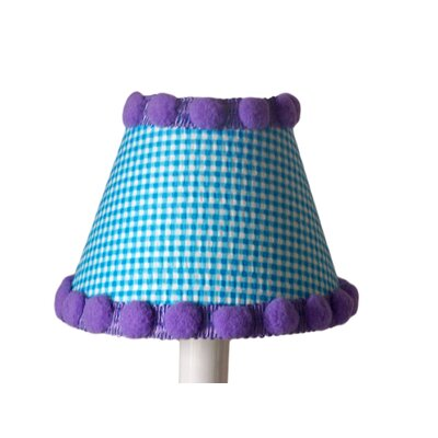 Watercolor Pom-Poms 5 Fabric Empire Candelabra Shade