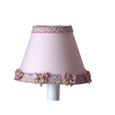 Lovely 5 Fabric Empire Candelabra Shade