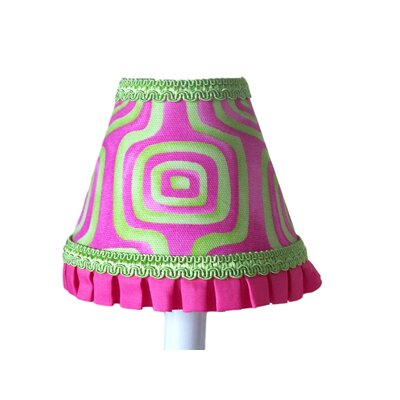 Blast of Color 5 Fabric Empire Candelabra Shade