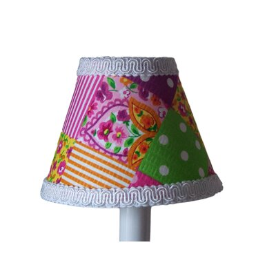 Patchwork Patterns 5 Fabric Empire Candelabra Shade