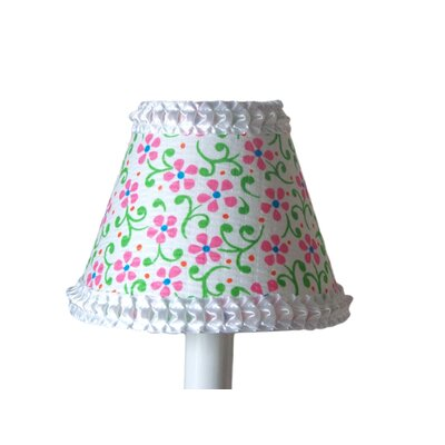 Playful Petals 5 Fabric Empire Candelabra Shade
