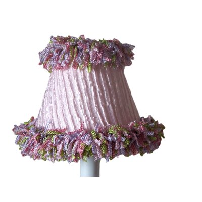 5 Fabric Empire Candelabra Shade Color: Pink