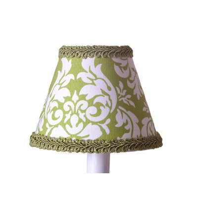 Avacado Damask 5 Fabric Empire Candelabra Shade