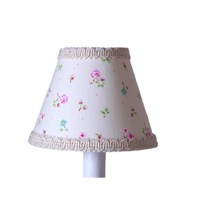 Angelic Floral 11 Fabric Empire Lamp Shade