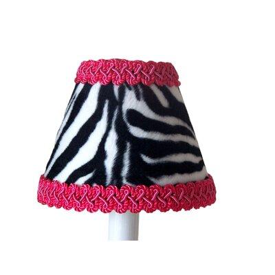 Zebra Prink 11 Fabric Empire Lamp Shade