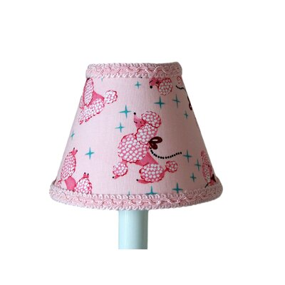 Prissy Poodle 11 Fabric Empire Lamp Shade