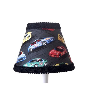 Race Car 11 Fabric Empire Lamp Shade