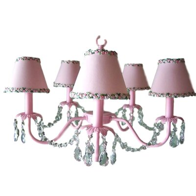 Camillah 5-Light Shaded Chandelier Shade: Once Upon a Time
