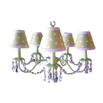 Camillah 5-Light Shaded Chandelier Shade: Fairway Fun