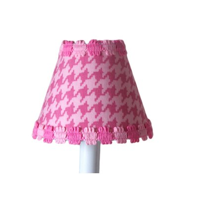 Candy Coated Houndstooth 11 Fabric Empire Lamp Shade